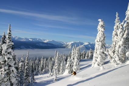 Western Canada: the best powder snow